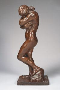 Eve, Small Model - Model with a Square Base and Flat Feet - Auguste Rodin
