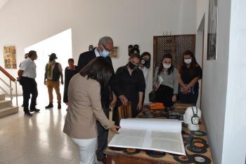 Girne Mayor Nidai Güngördü Visited BRT Publishing History Museum (3)