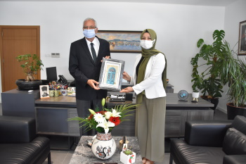 Delegation from Turkey visited the Girne Municipality (3)