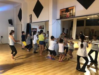 Girne Children's Council attended a Lefkosa Ballet workshop (2)