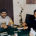 Hussein and family Playing Bridge in the 1980's