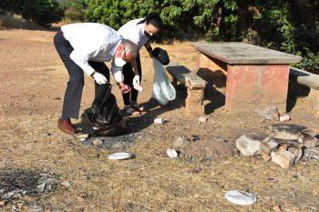 Boğaz Picnic Area clean-up (6)