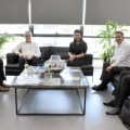 Girne Municipality meet Chamber of Industry, (1) image