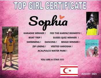 Sophia certificate