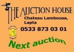 North Cyprus - Auction at Lambousa Auction House on April 30th 2016