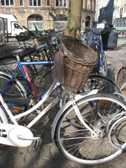 Bicycles, in Copenhagen... Really? ;)