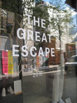 The great escape indeed!!