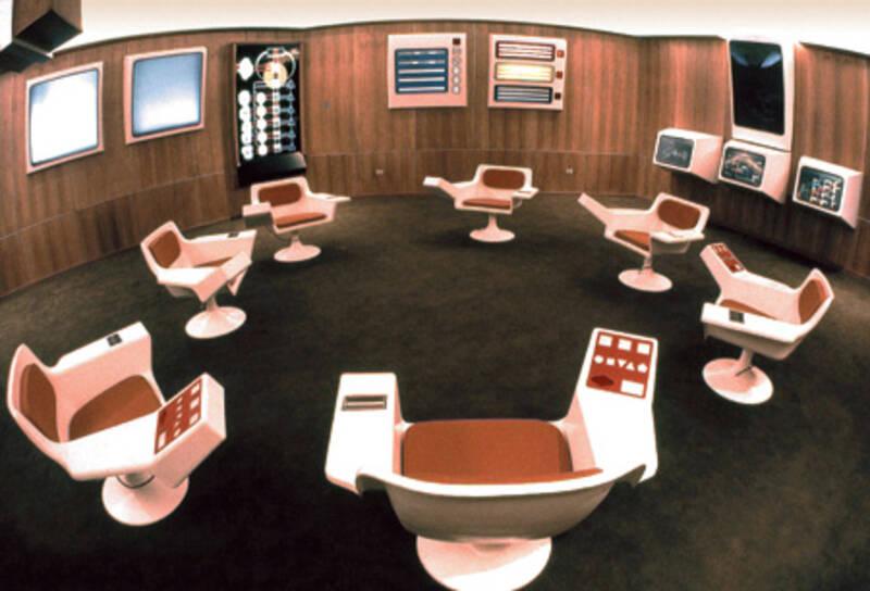 Les médias disparus: Cybersyn, réseau social