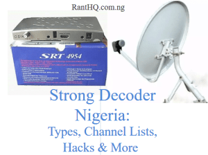 Free To Air Strong Decoder And Prices In Nigeria 2020