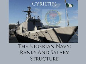 Nigerian Navy: Ranks And Salary Structure In 2021 (Updated List)