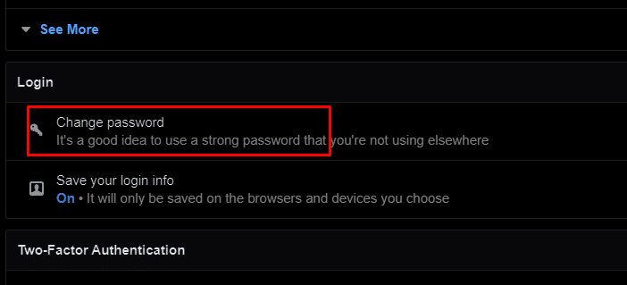 change password pics