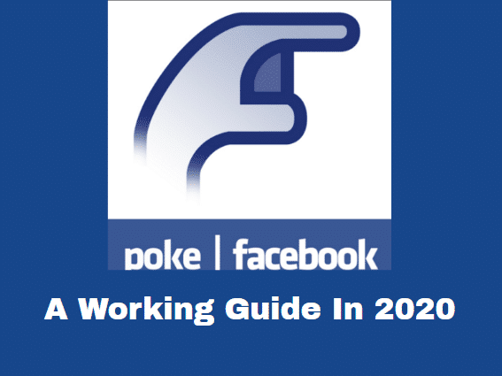 How To Poke Someone On Facebook In Easy Steps (2020 With Pictures)