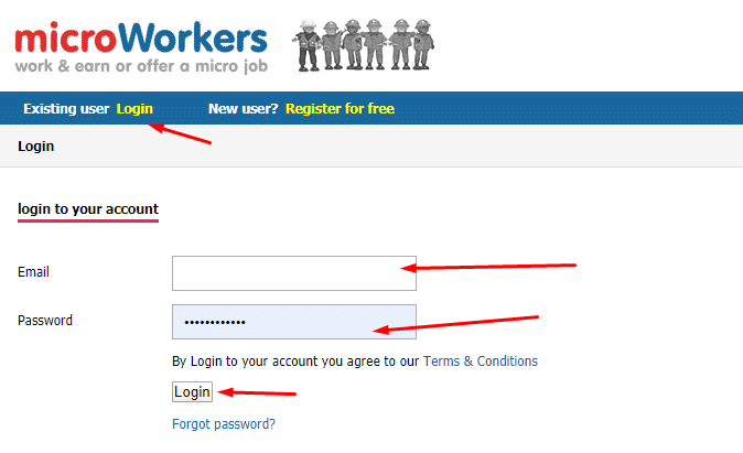 sign into microworkers pics