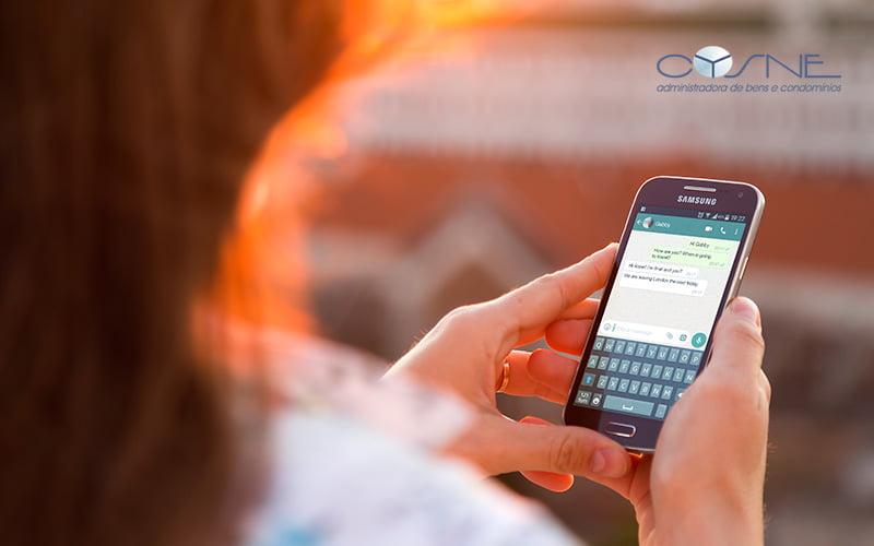 Grupos De Whatsapp Atrapalham As Relações Nos Condomínios - Cysne Administradora de bens e Condomínios