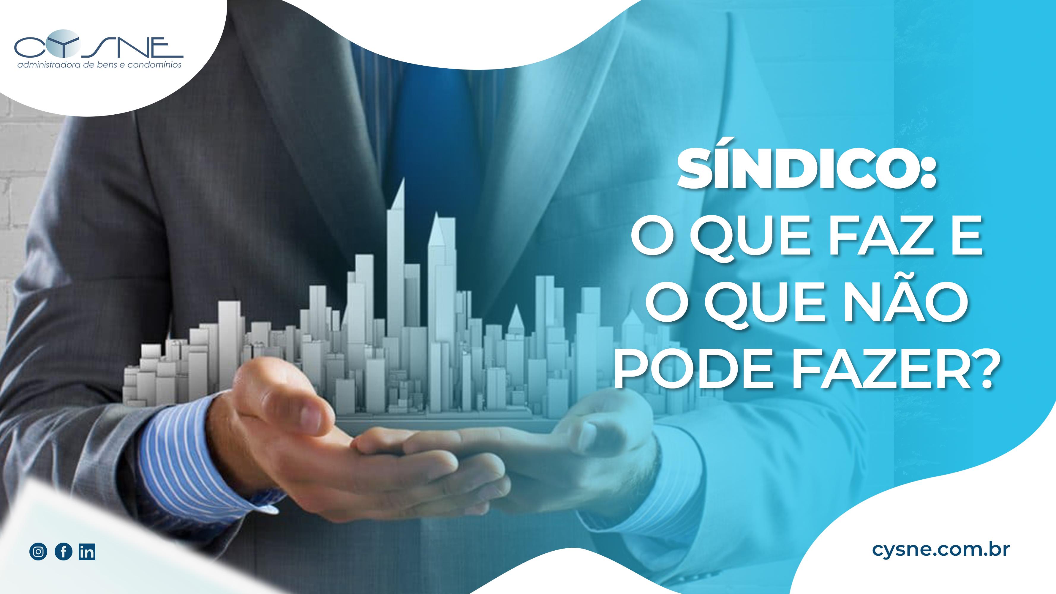 Sindico Linkedin - Cysne Administradora de bens e Condomínios