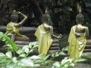 statues birmanes