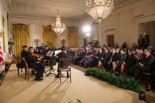 AidanSinclair Daniel at White House