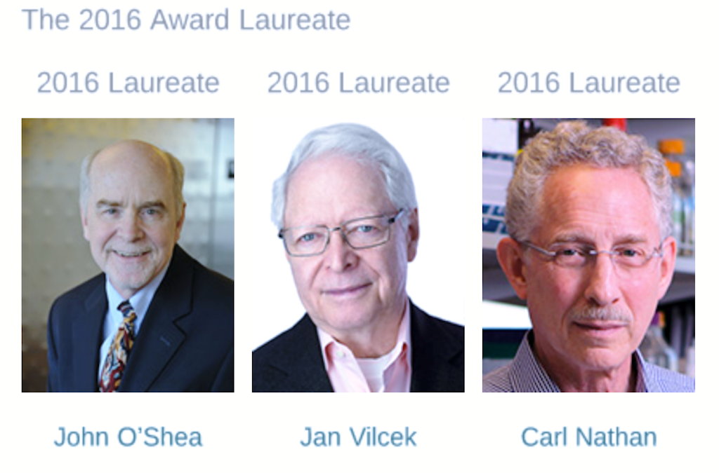 The Seymour & Vivian Milstein Award for Excellence in Interferon and Cytokine Research