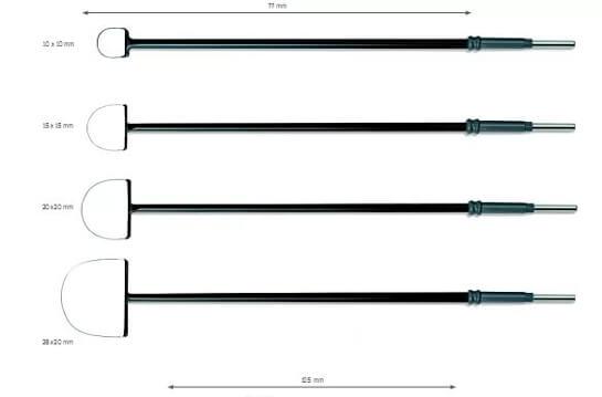 Электрод-петля для проведения электрохирургической биопсии