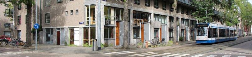 foto Czaar Peterstraat 51, hoek inloophuis Czaar51