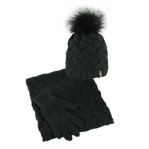 czapka-welniana-komin-rekawiczki-czarny