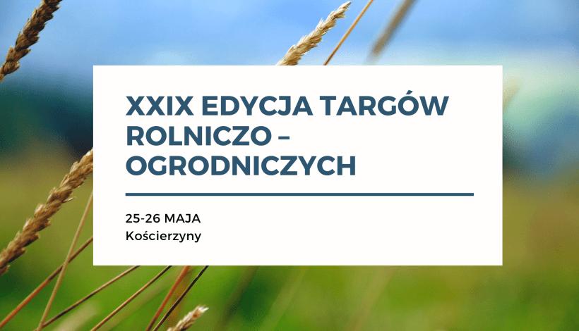 Targi Rolniczo-Ogrodnicze Kościerzyn