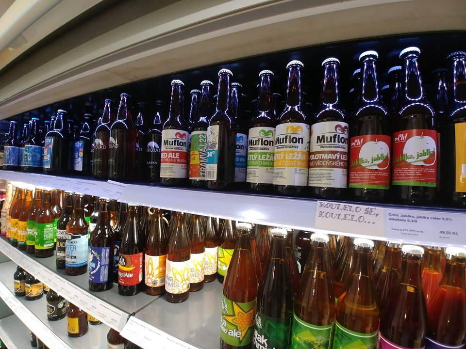 muflon Bottles in Globus store
