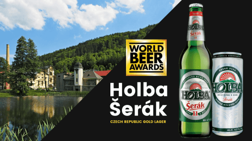 Holba Serak won a gold medal at the world beer awards 2019