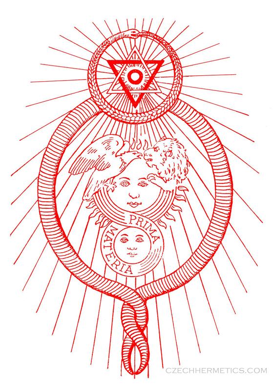 Bardons Concentration Exercise Symbol Czech Hermetics