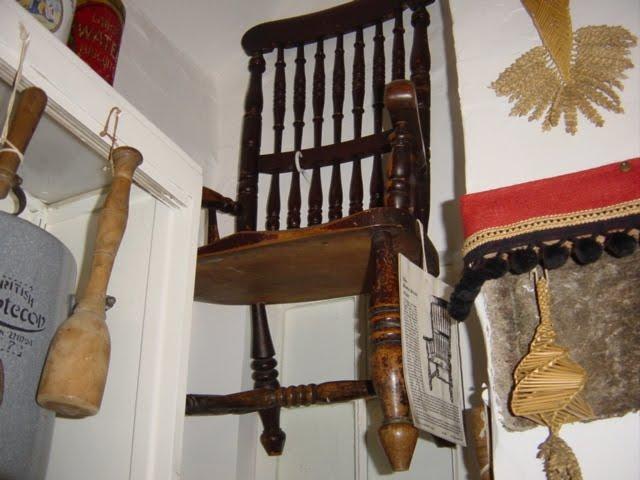 Od roku 1972 je křeslo v First museum of England. Křeslo je zavěšeno do výšky 1,5 metru, aby nezpůsobilo žádnou další smrt.