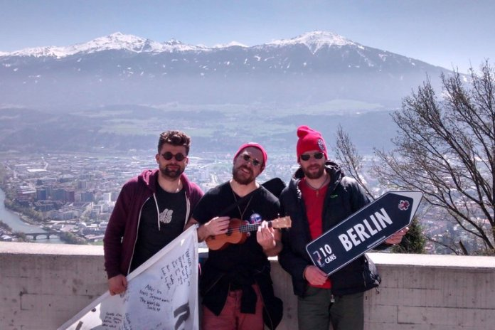 Český tým Happy Three Friends při loňském ročníku v Innsbrucku (foto: Happy Three Friends)