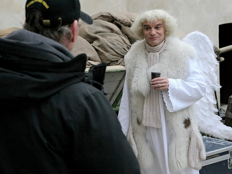 Natáčení filmu Anděl Páně 2; foto: Žďárský deník
