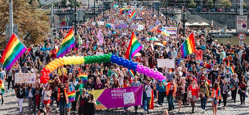 Over 40,000 Attend Prague Pride Parade - Czech Points