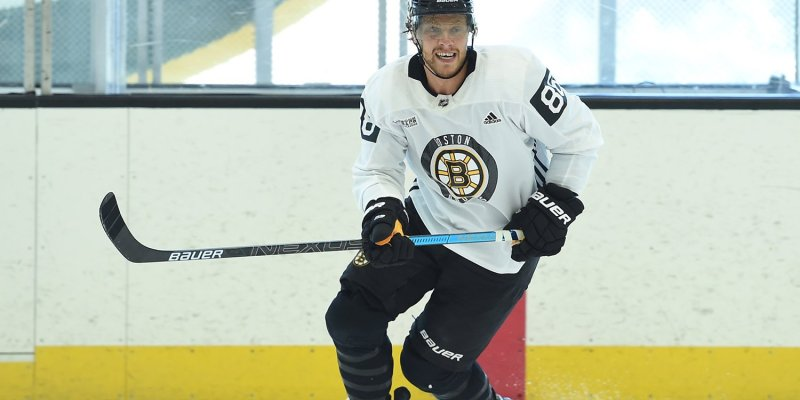 David Pastrnak named Czech  player of the year - Czech Points