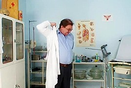 Czech Mature Likes The Way Her Doctor Is Touching Her Tits And Playing With Her Pussy