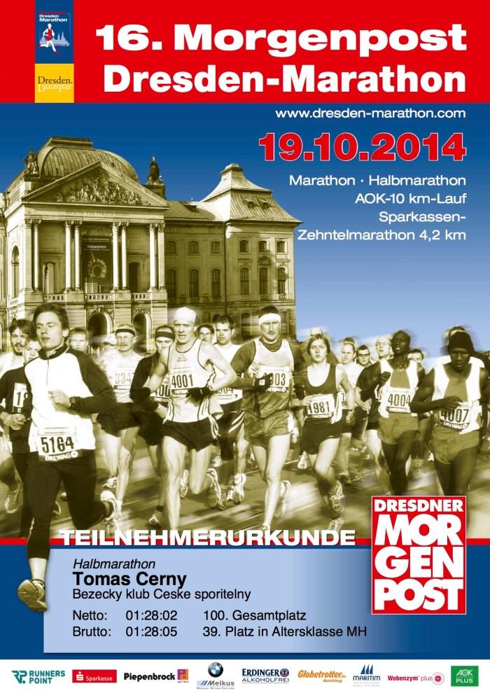 Dresden halbmarathon 19.10.2014