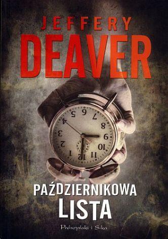 Jeffery Deaver – Październikowa lista