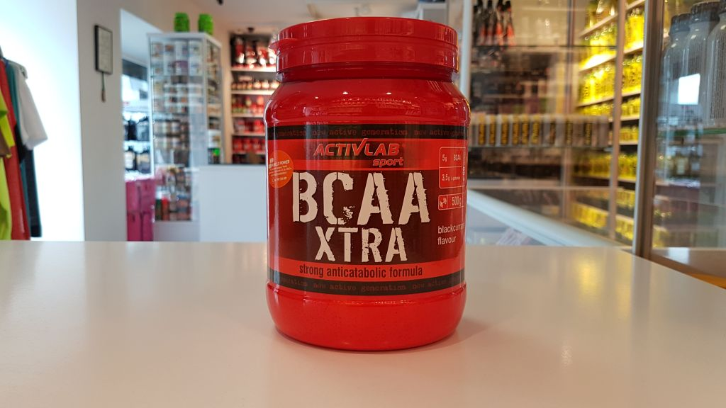 Aminokwasy BCAA Xtra - Activlab Muscle Power Częstochowa - sklep z odżywkami i zdrową żywnością