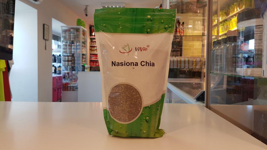 Nasiona Chia - Vivio Muscle Power Częstochowa - sklep z suplementami i zdrową żywnością
