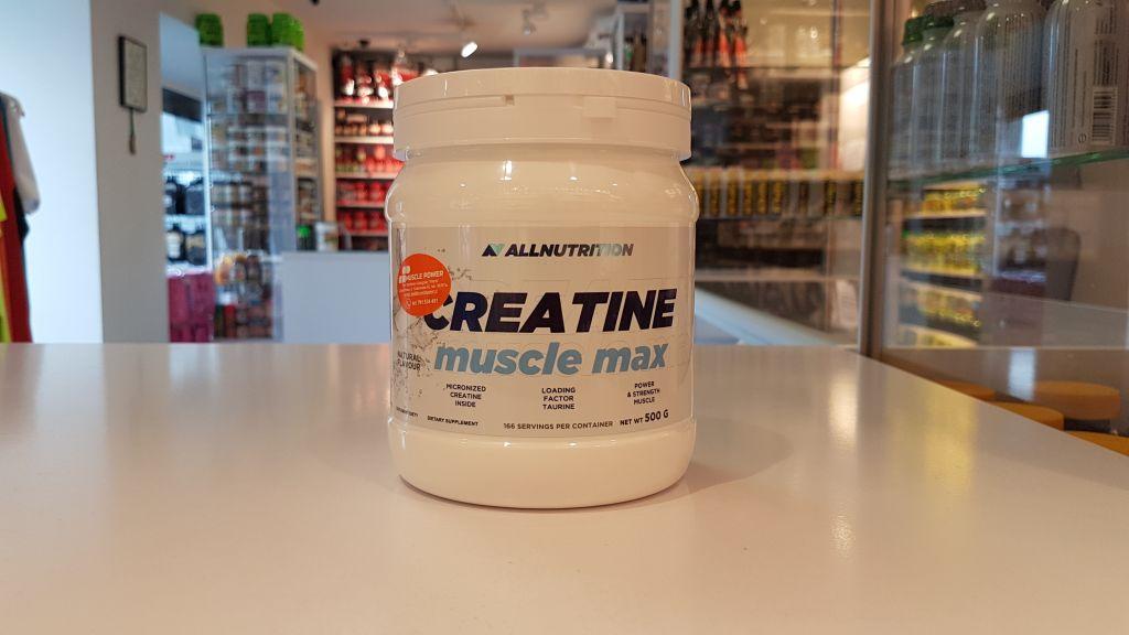 Creatine Muscle Max - All Nutrition Muscle Power Częstochowa - sklep z suplementami i zdrową żywnością