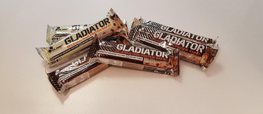 Gladiator Bar - Olimp Muscle Power Częstochowa - sklep z suplementami i zdrową żywnością
