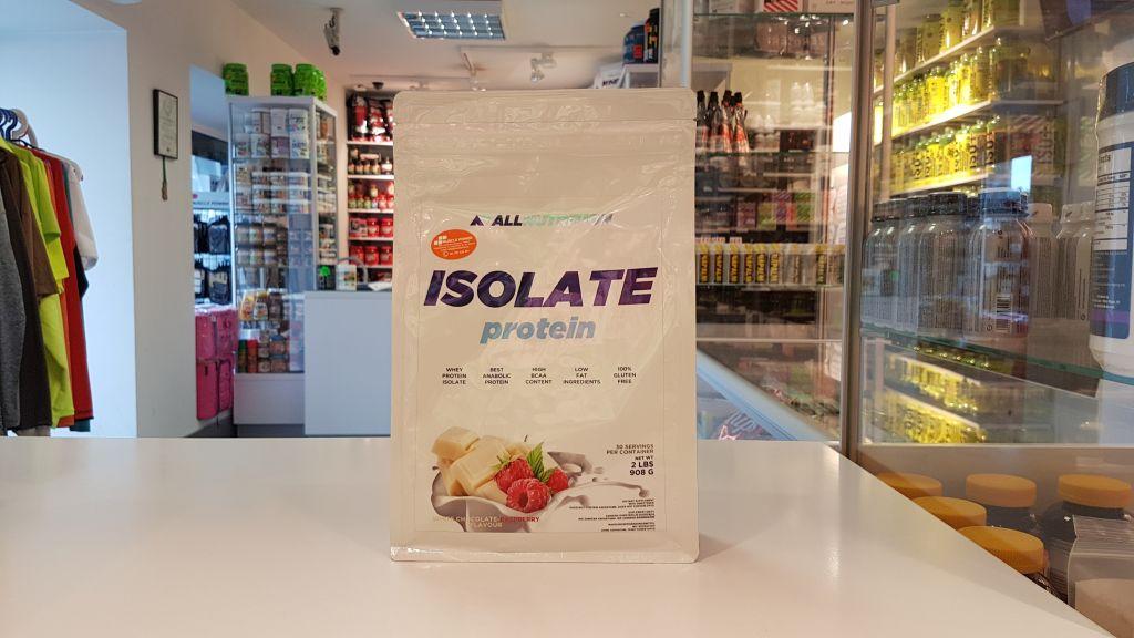 Isolate Protein - All Nutrition Muscle Power Częstochowa - sklep z suplementami i zdrową żywnością