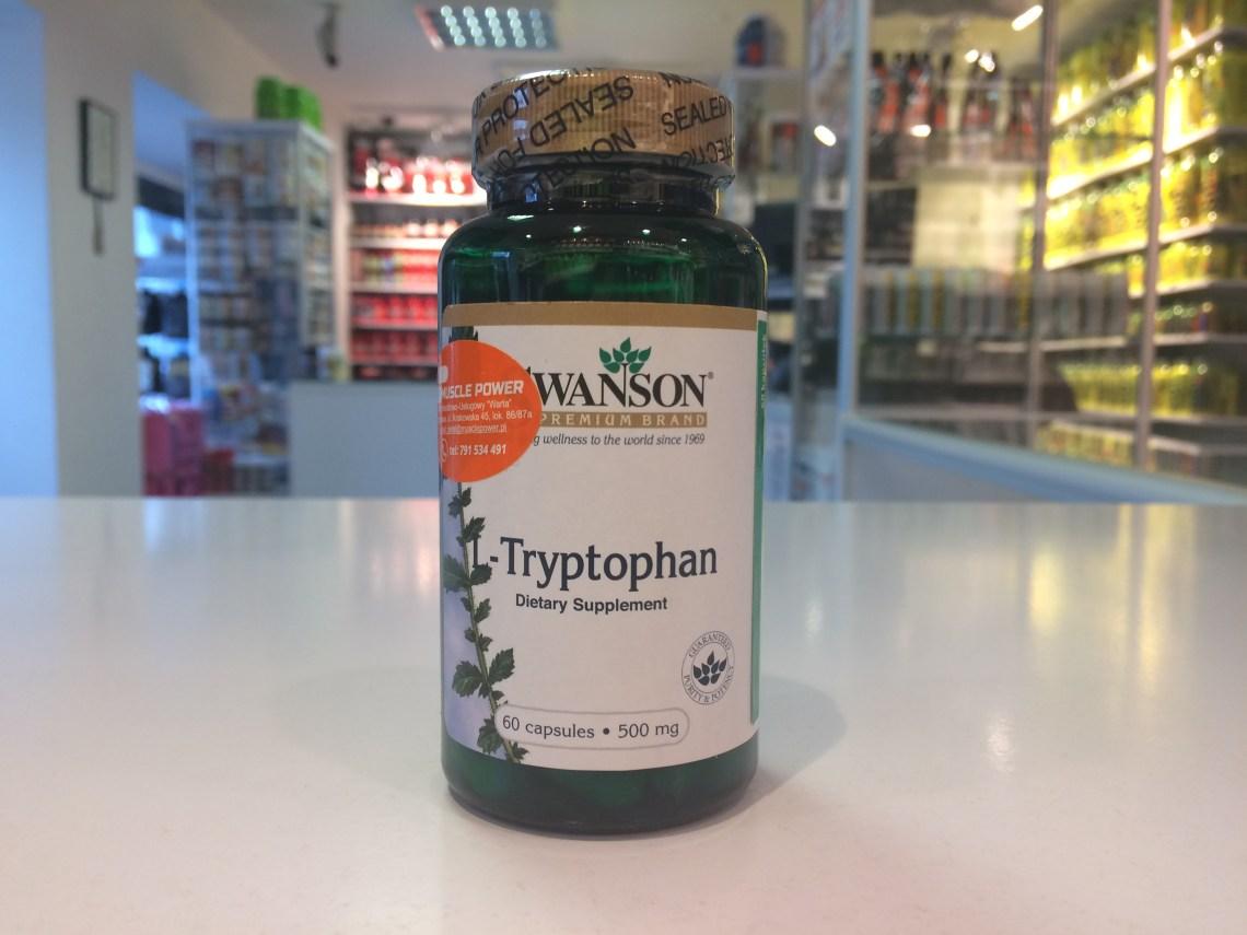 L-Tryptophan - Swanson Muscle Power Częstochowa - sklep z suplementami i zdrową żywnością