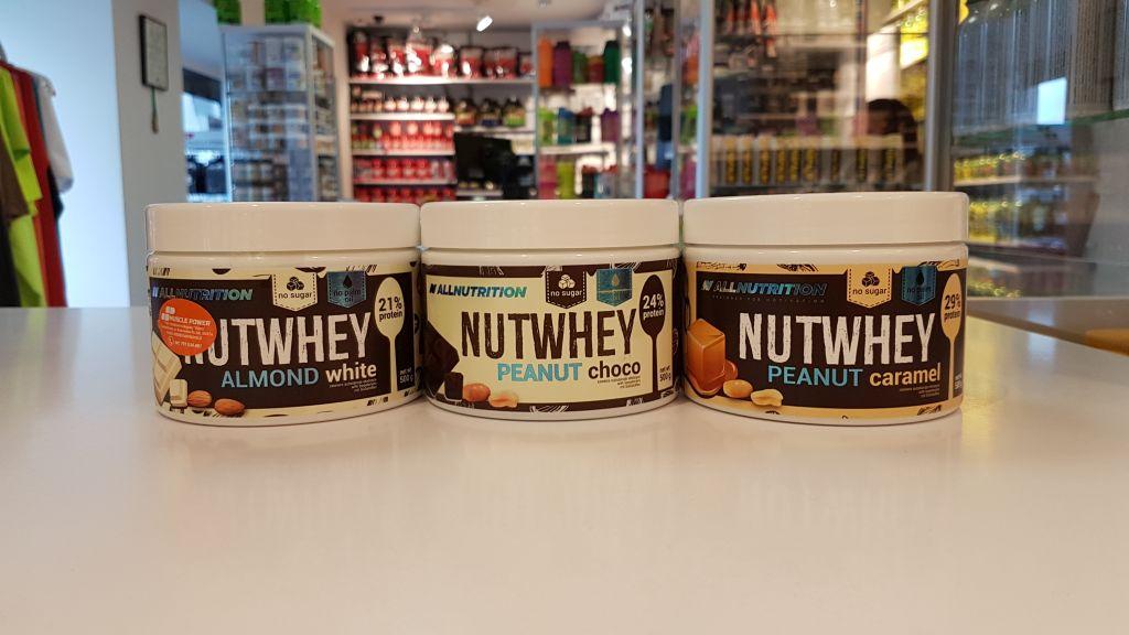 NutWhey - All Nutritio Muscle Power Częstochowa - sklep z suplementami i zdrową żwynością