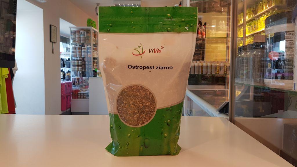 Ostropest Ziarno - Vivio Muscle Power Częstochowa - sklep z suplementami i zdrową żywnością