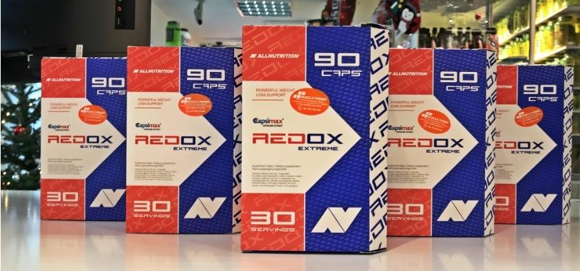 Nowośc od marki AllNutrition- spalacz tłuszczu REDOX