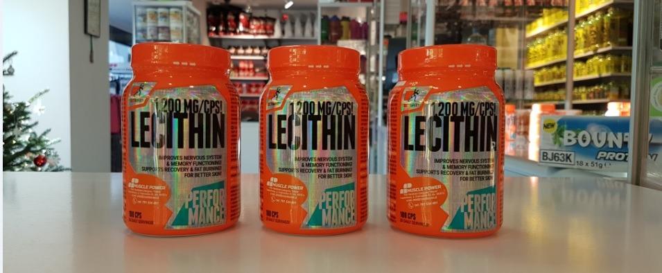 Nowość marki Extrifit-Lecytyna .Częstochowa Muscle Power. sklep z suplementami i zdrową żywnością