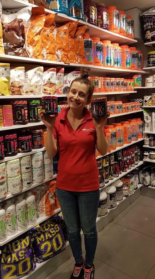 Nowa gramatury najlepszych przedtreningówek IHS Muscle Power Częstochowa - sklep z suplementami i zdrową żywnością