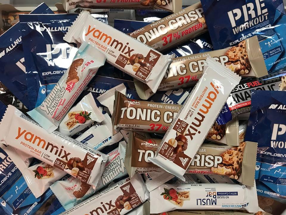 Przyjdź i odbierz batonika lub przedtreningówkę! Muscle Power - sklep z suplementami i zdrową żywnością