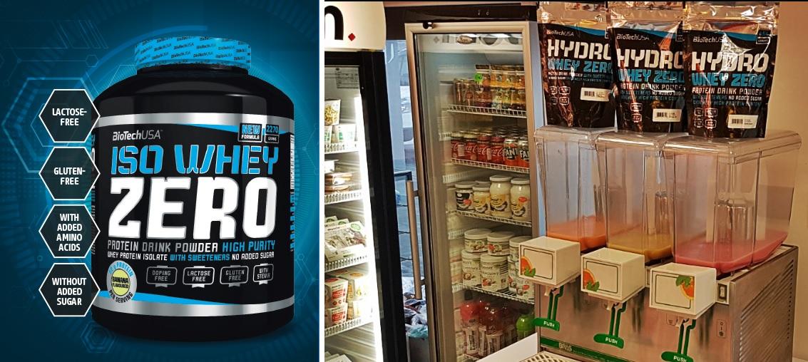 Degustacja Hydro Whey Zero z marki BioTech